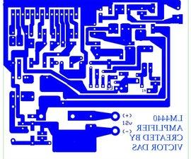 LM4440/LA4440 20W AUDIO AMPLIFIER WITH 12V
