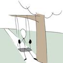 DIY Simple/Minimalistic Plastic Swing