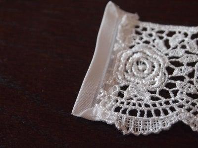Sides of Bracelet - Bias Binding Tape