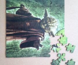 Make a Laser Cut Puzzle
