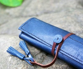 How to Make a Cool Leather Pen Case