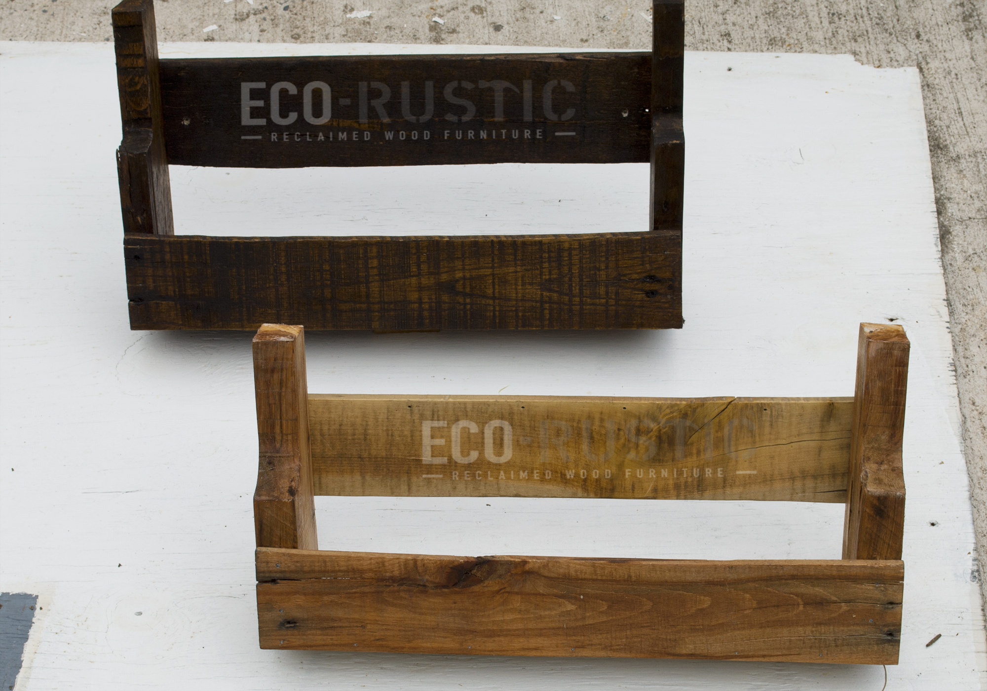 Picture of DIY RUSTIC PALLET WOOD SHELVES