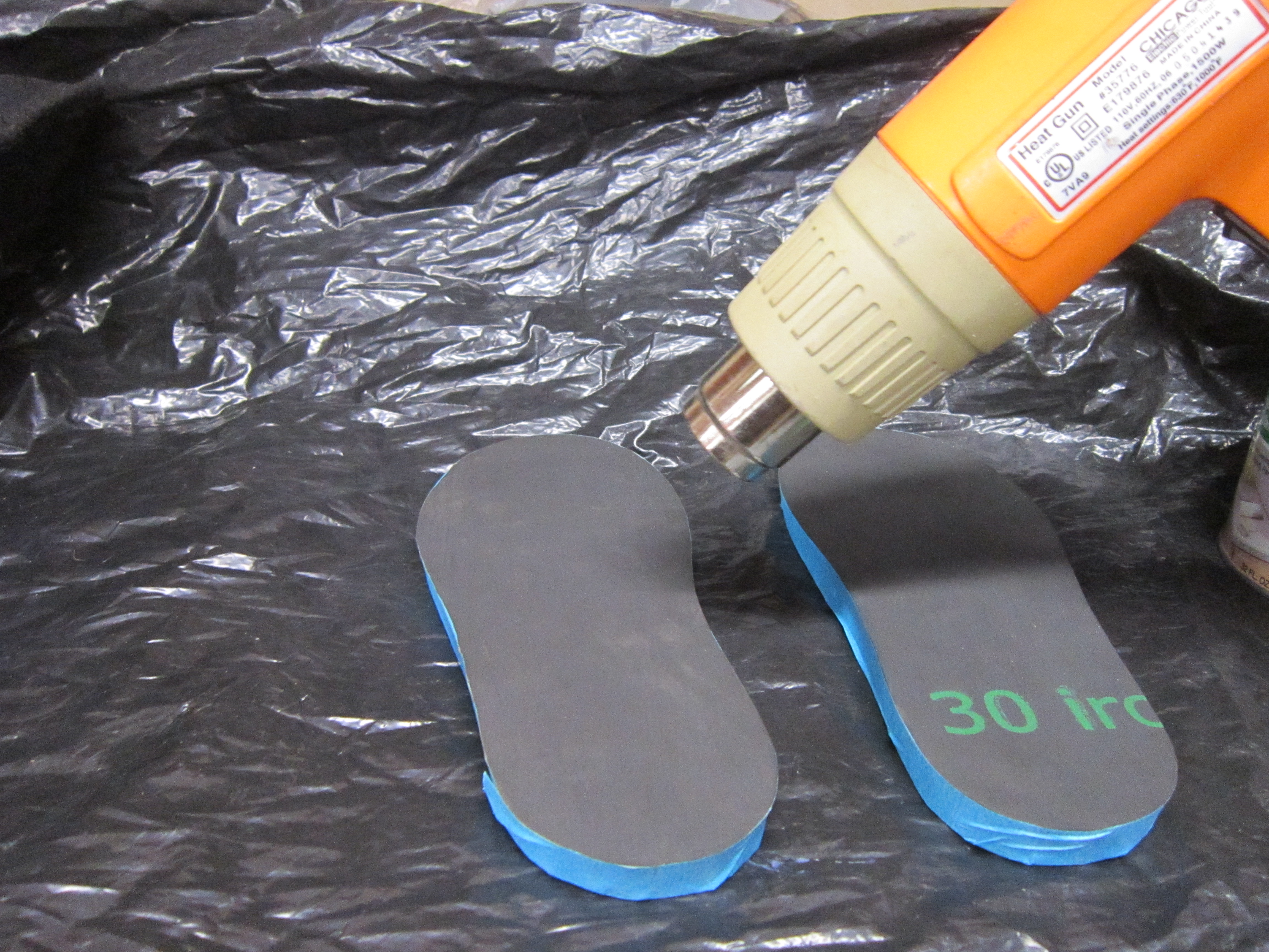 Picture of Attaching the Soles