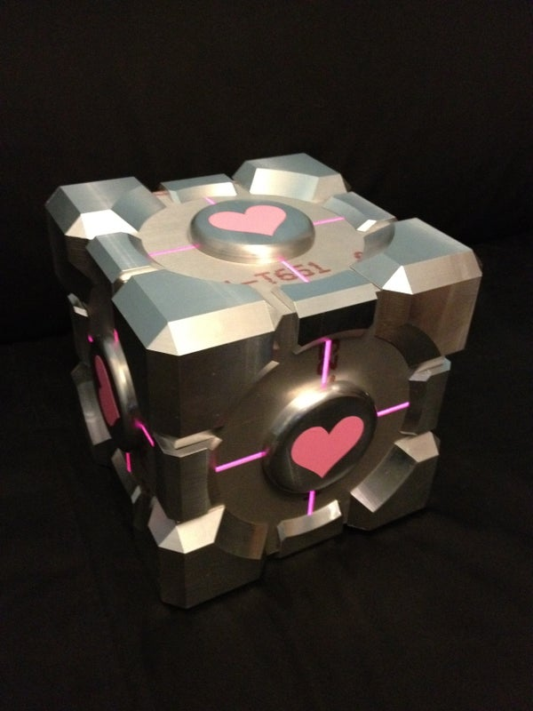 Aperture Science Spatially Challenged Companion Cube