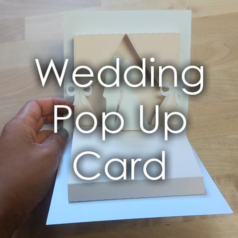 Picture of Wedding Themed Popup Card