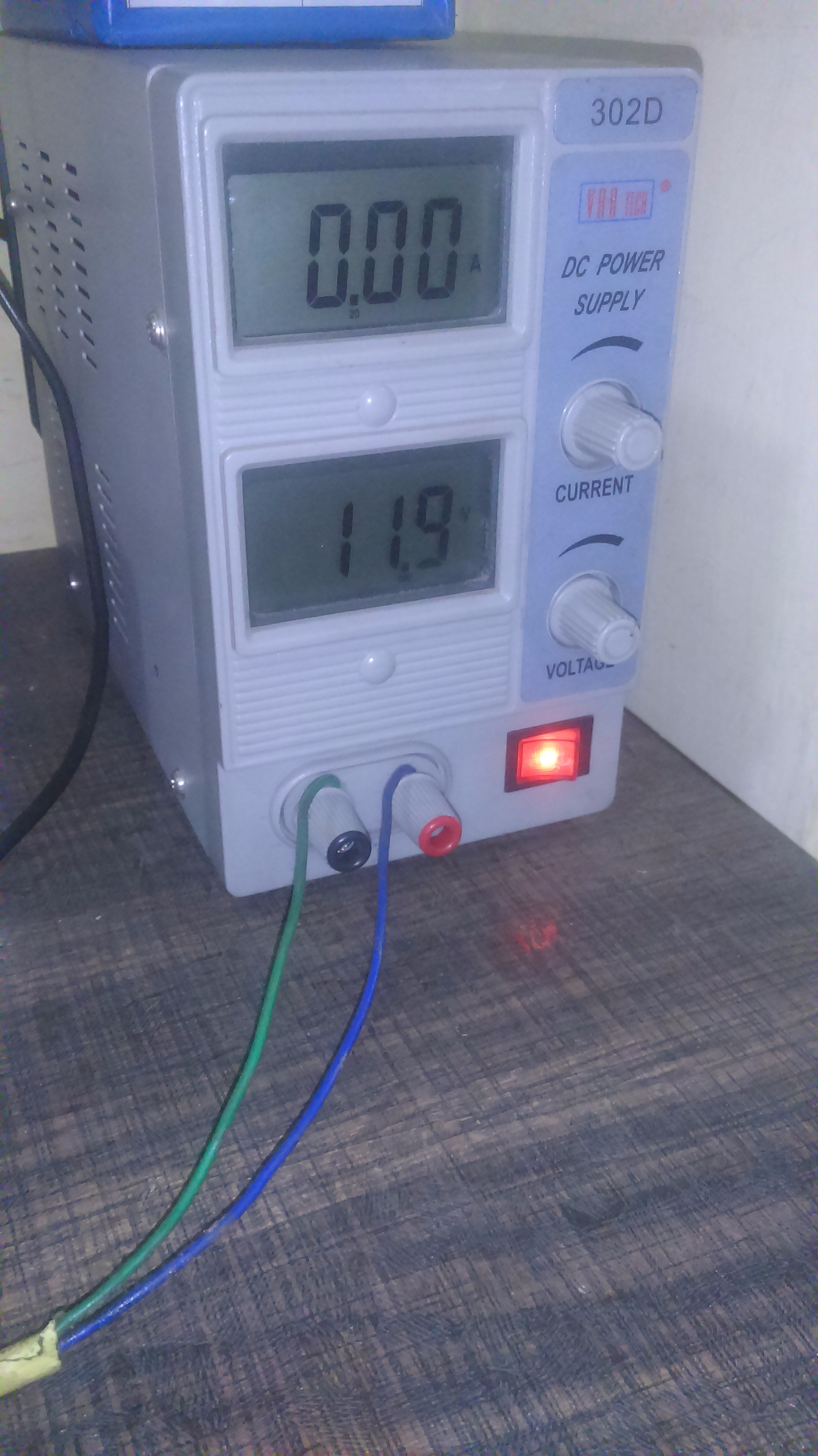 Picture of After Connection You Can Switch on the DC Power Supply