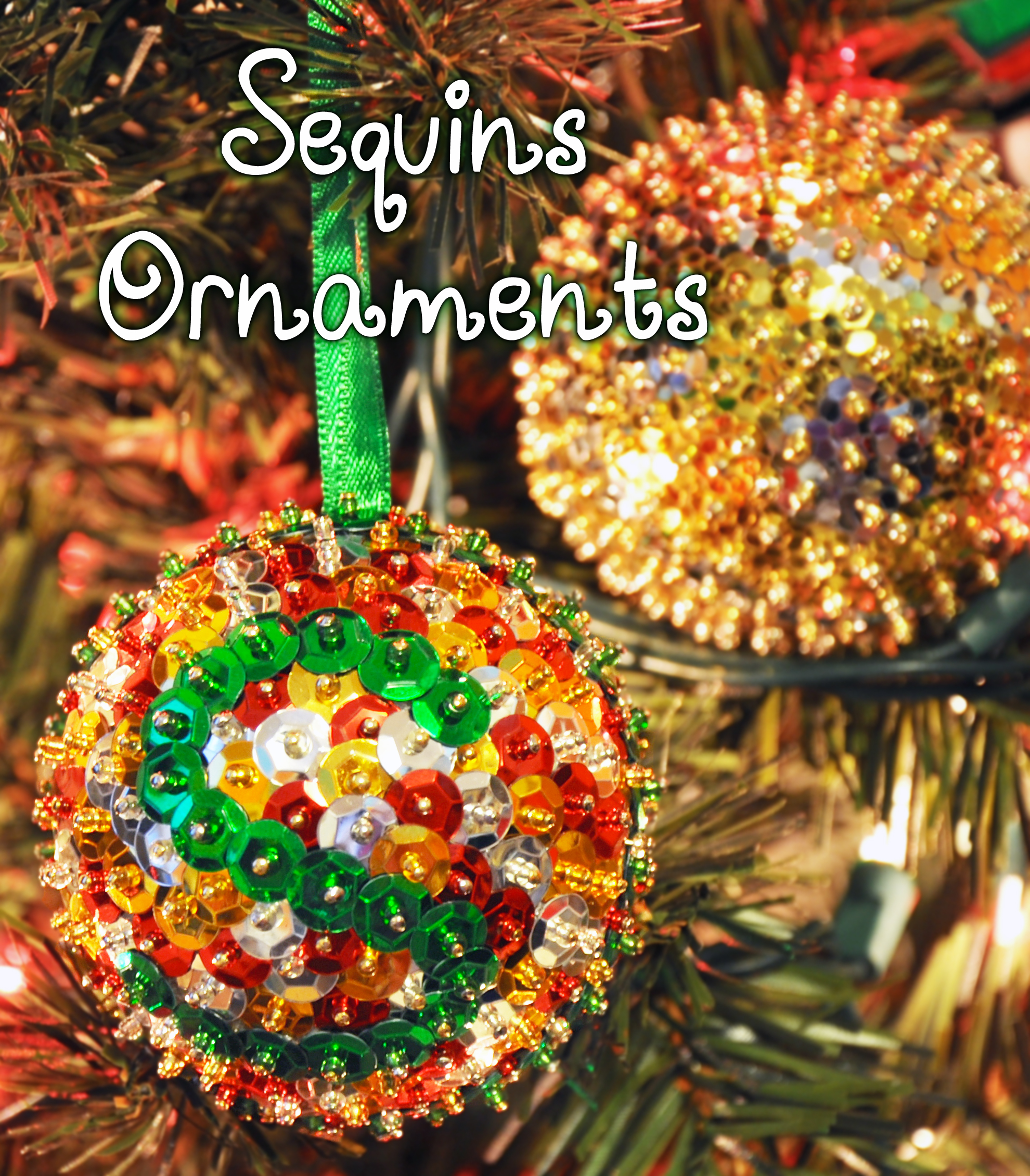 Picture of Sequins Ornaments