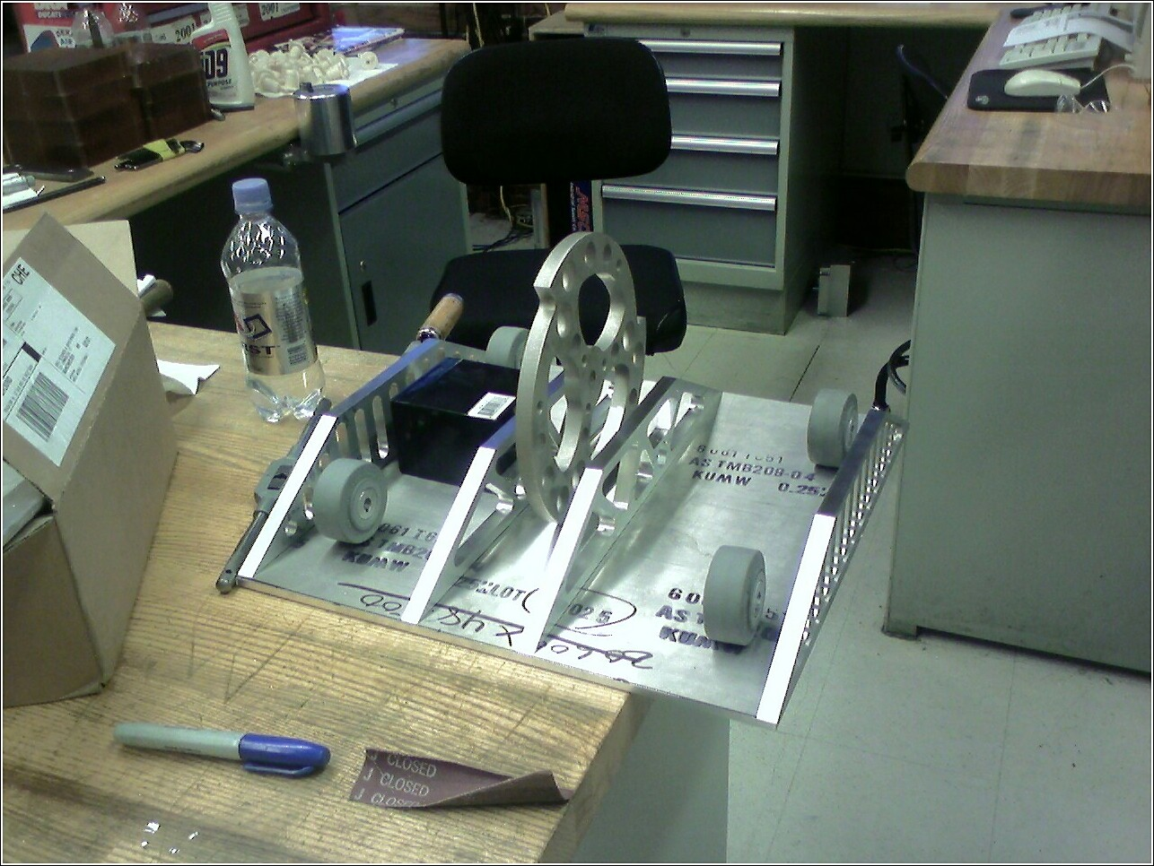 Picture of Construction of Manufactured Parts