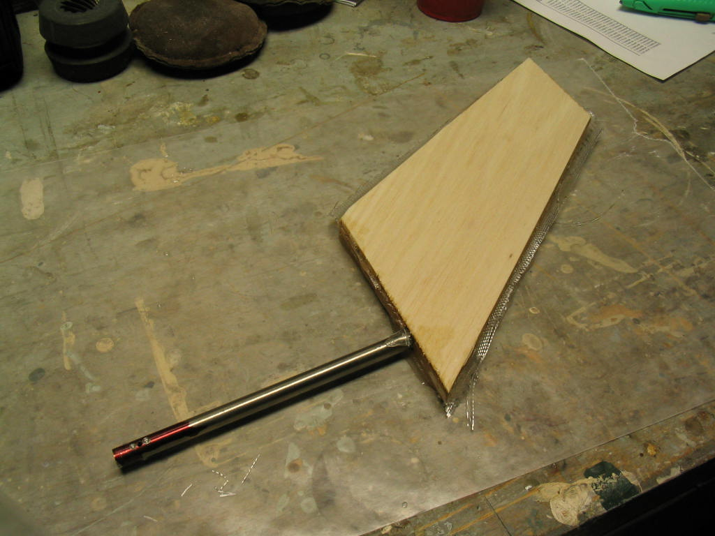 Picture of Shaping the Rudder Foil