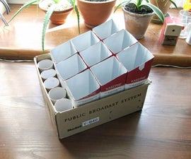 Organizing With Tetra Paks