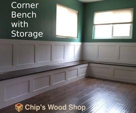 Corner Bench With Storage