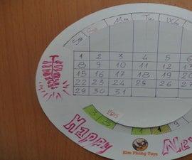 Perpetual calendar 50 years