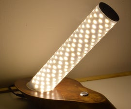 Modern/Vintage Inclined Table Lamp