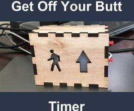 Get Off Your Butt Timer