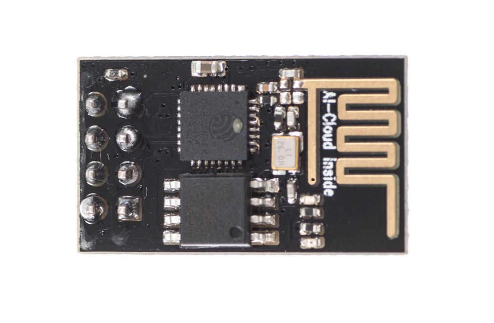 Picture of Flash AT Command Firmware to ESP01 Module (requires a USB to TTL Adapter)