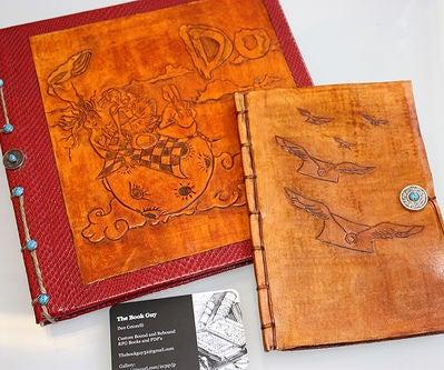Leather Book Bindings