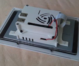 Raspberry PI Touch Screen Frame and Case Assembly Guide