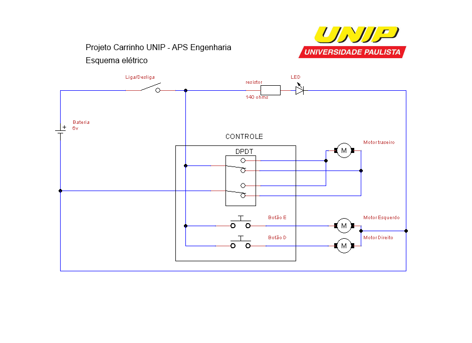 Picture of Electrical Scheme and How It Should Work