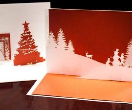 Customizable Pop Up Holiday Card