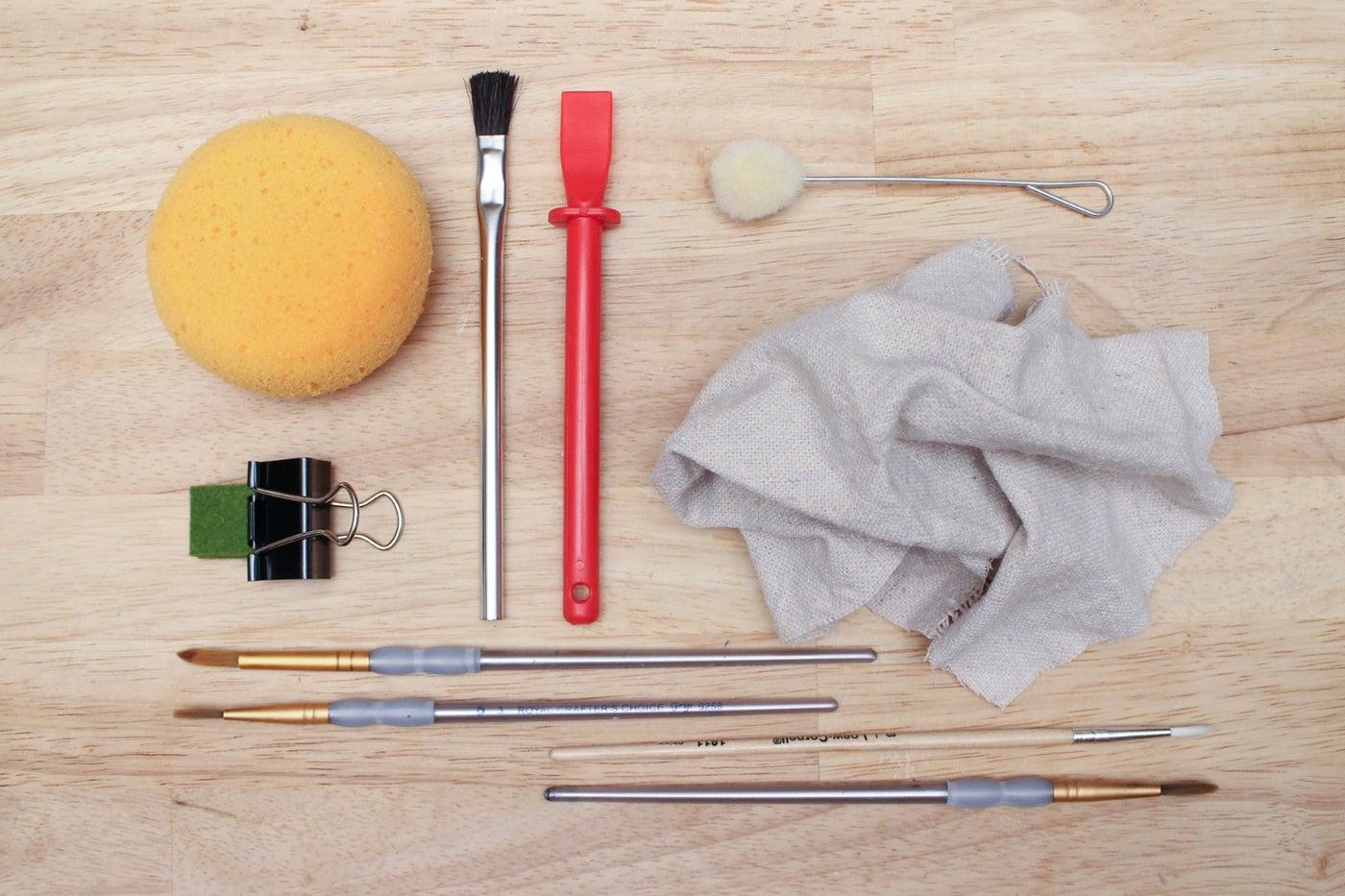 Brushes Sponges and Applicators