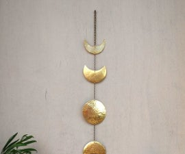 The Phases of Moon Wall Hanging