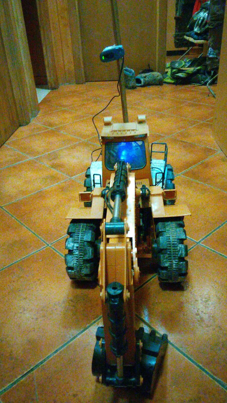 Picture of FPV Internet Controlled Toy Excavator