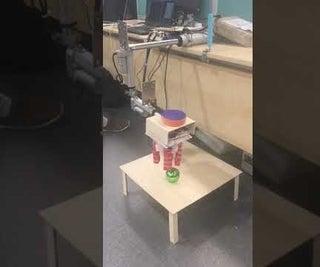 3-DOF Gripper Controlled Through Computer Vision