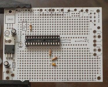 Add Electrolytic Caps