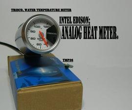 Intel Edison: Heat meter, TMP36
