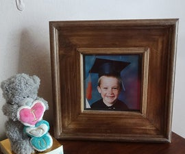 Easy wood picture or photo frame