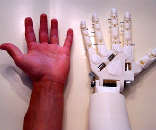 DIY Prosthetic Hand  & Forearm (Voice Controlled)