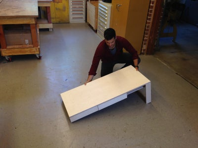 CAF - the Coffee Table That Moves With You