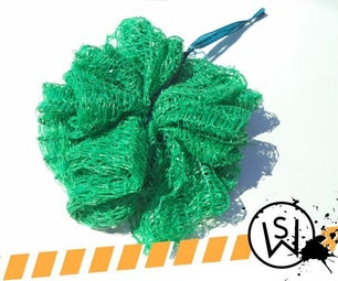 How to Make a Sponge Out of Plastic Mesh Bag