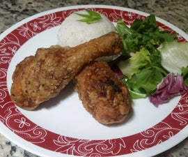 Soy-Garlic-Ginger Fried Chicken