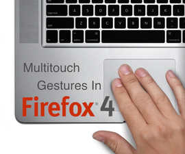 Customizing Multitouch Gestures in Firefox