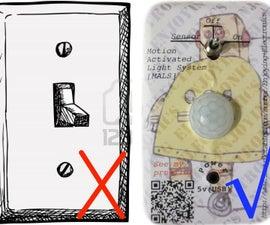 DIY Motion Sensing Ceiling Fan/light ***5$ Energy Saver!!!***