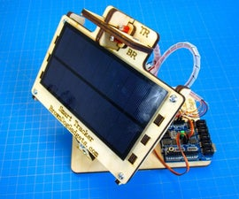 Simple Dual Axis Solar Tracker