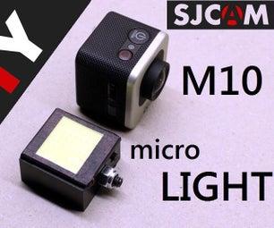 Diy Micro-LIGHT for SJCAM M10