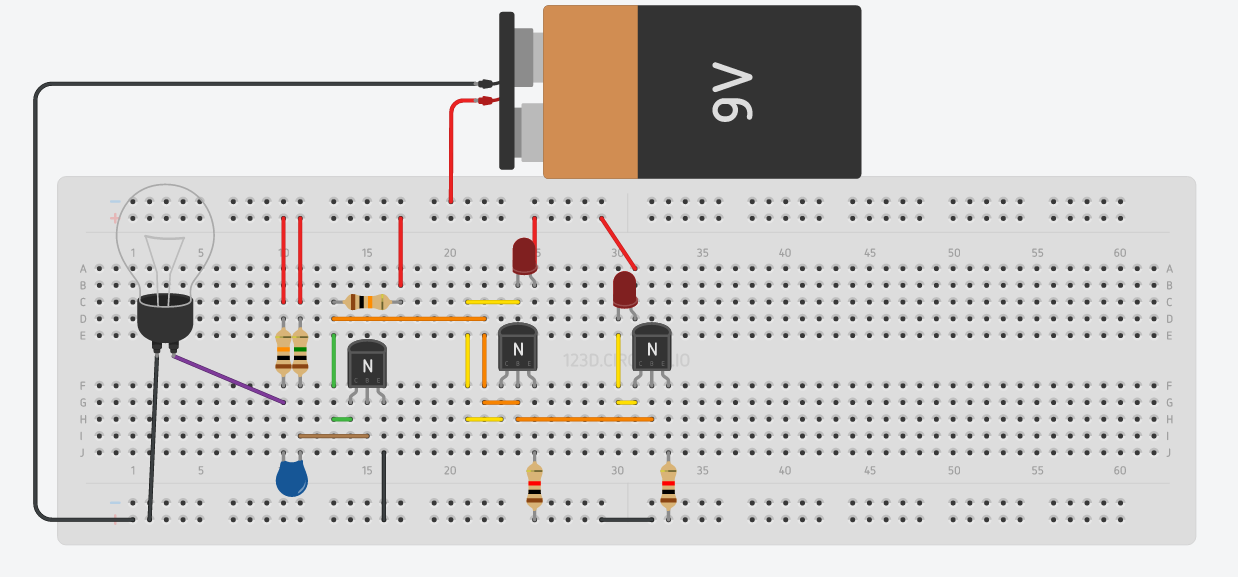 Picture of Protoboard Circuit (optional)