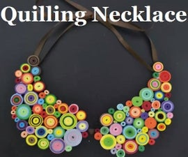 Quilling Necklace
