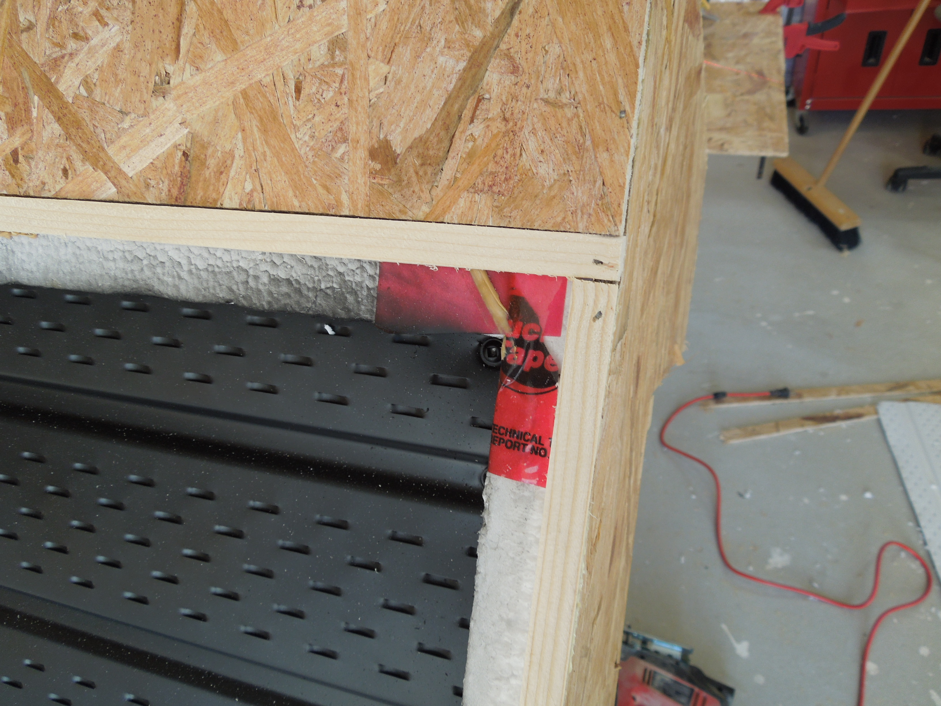 Picture of Window Mounted Solar Hot Air Furnace (Aluminum Soffit Based)