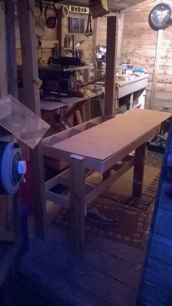 Picture of Creating the Work Surfaces (Part 1)