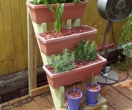 Window Box Planter Stairs