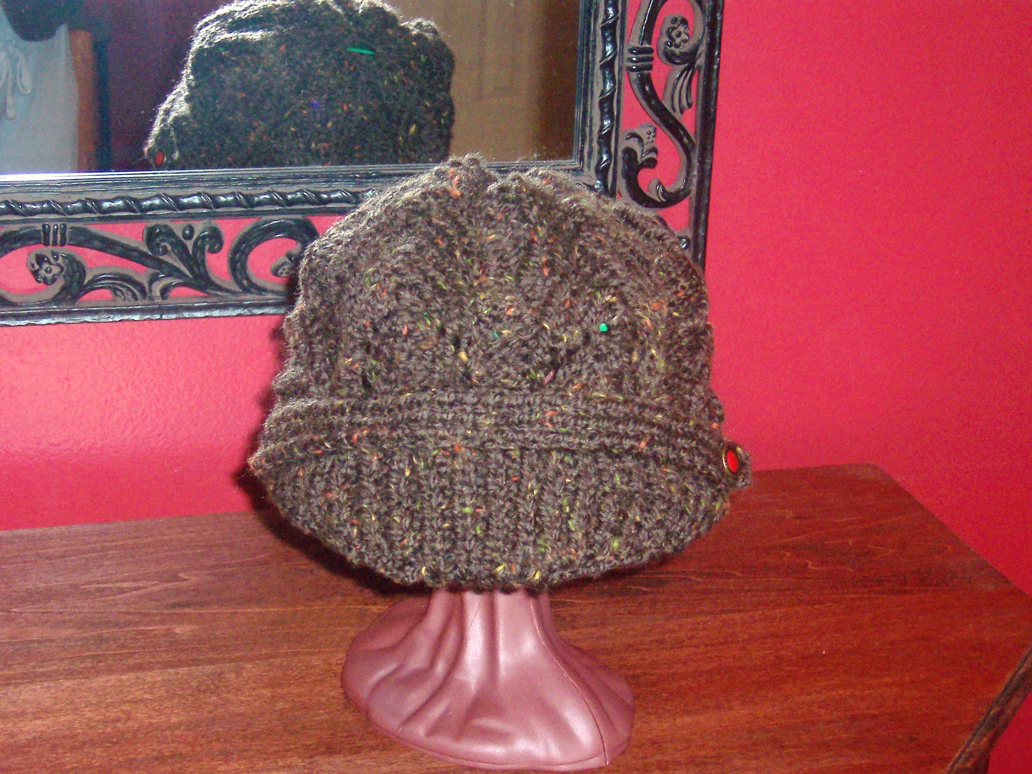 Picture of Newsboy Peak Knitted Cap