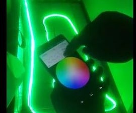 Android Phone control RGB Strip