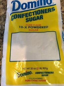 Add Powdered Sugar