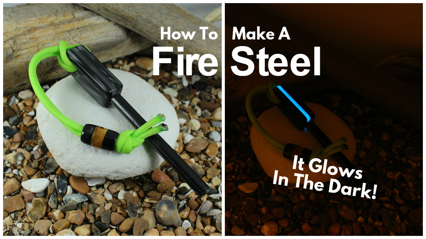 Picture of How to Make a Fire Steel That Glows in the Dark