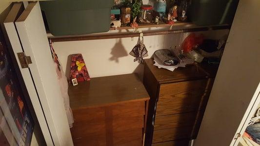 Dressers in a Closet?!