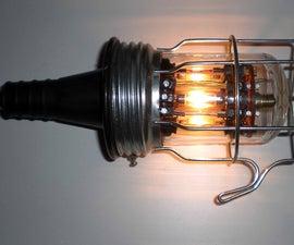 Steampunked craftsman Festoon Lamp