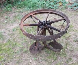 Tractor Wheel Table